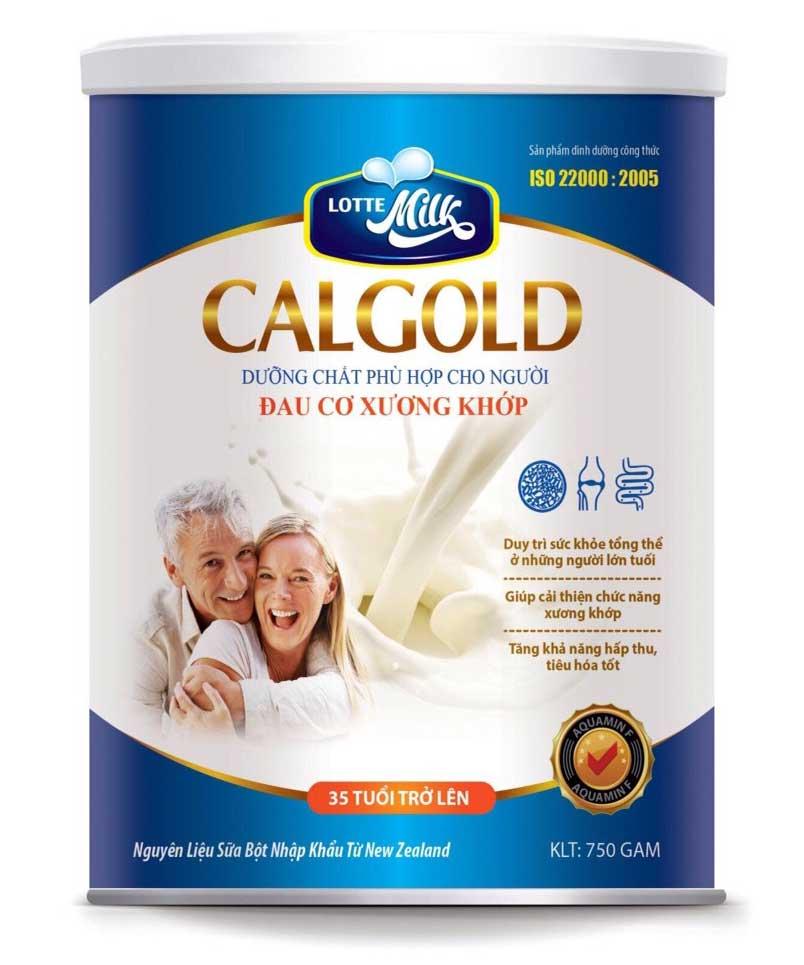 Sữa Calgold - Dưỡng chất dành cho người đau xương khớp