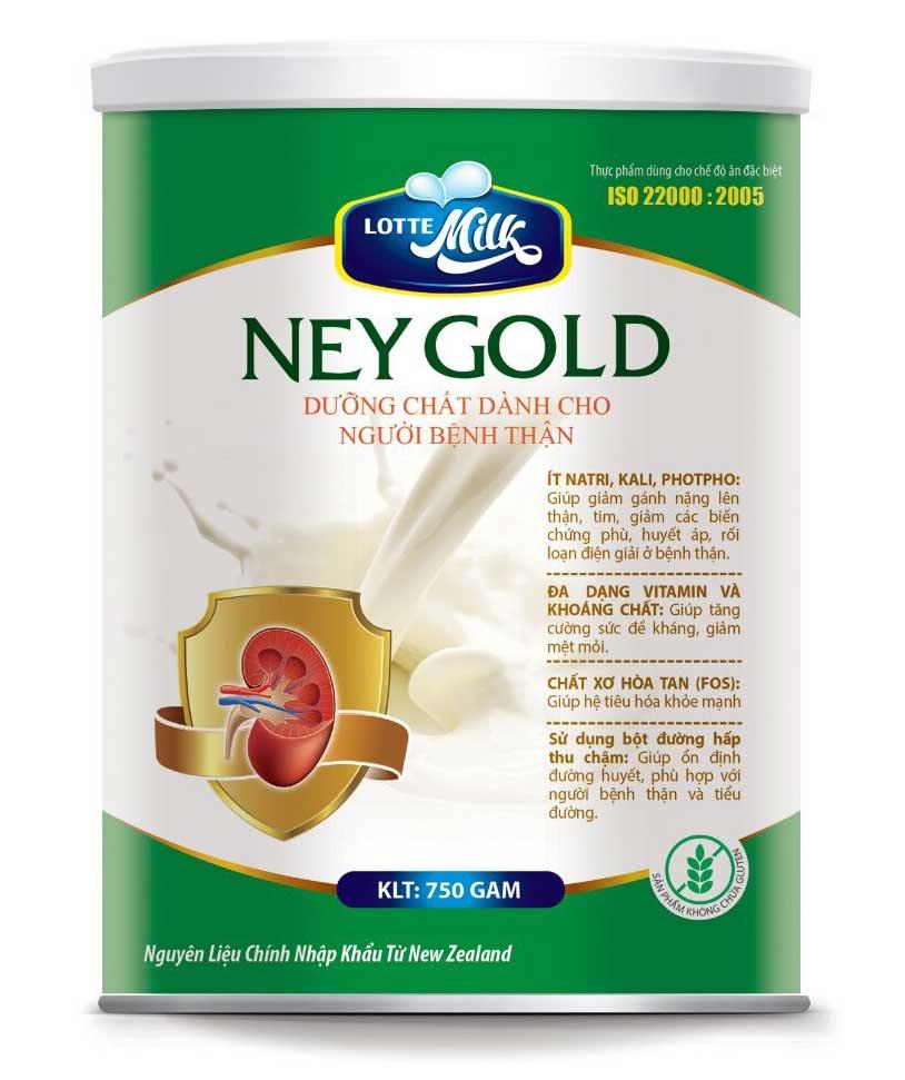 Sữa Ney Gold - Dưỡng chất dành cho người mắc bệnh thận