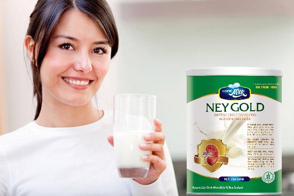 Neygold, Sữa Neygold, top ten food, lotte milk, suy thận, bệnh thận, điều trị suy thận, Đái tháo đường, tăng huyết áp, sỏi thận, viêm cầu thận,