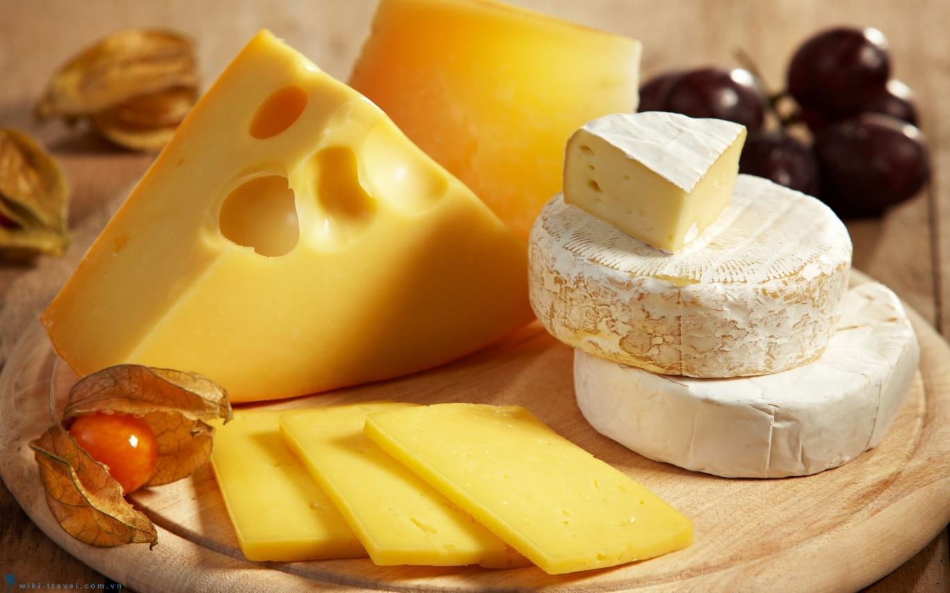 Pho mát chứa hàm lượng cholesterol cao không tốt cho người bệnh tiểu đường