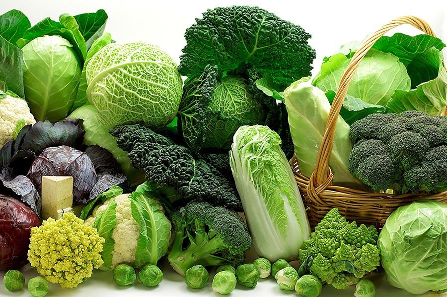 Rau xanh giúp tái thiết gan, giải độc gan