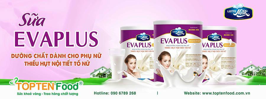 Sữa Evaplus - Dưỡng chất dành cho phụ nữ thiếu hụt nội tiết tố