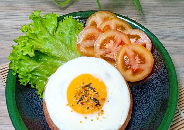 thực phẩm giàu đạm: trứng ốp la