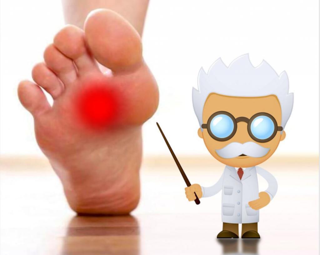 Dép xỏ ngón có thể gây chai sạn chân