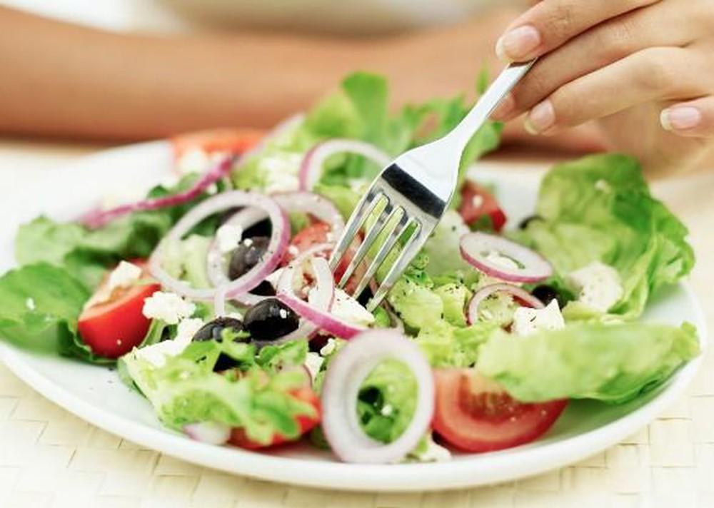 Một bữa tối khoa học là ăn nhiều rau, ít thịt