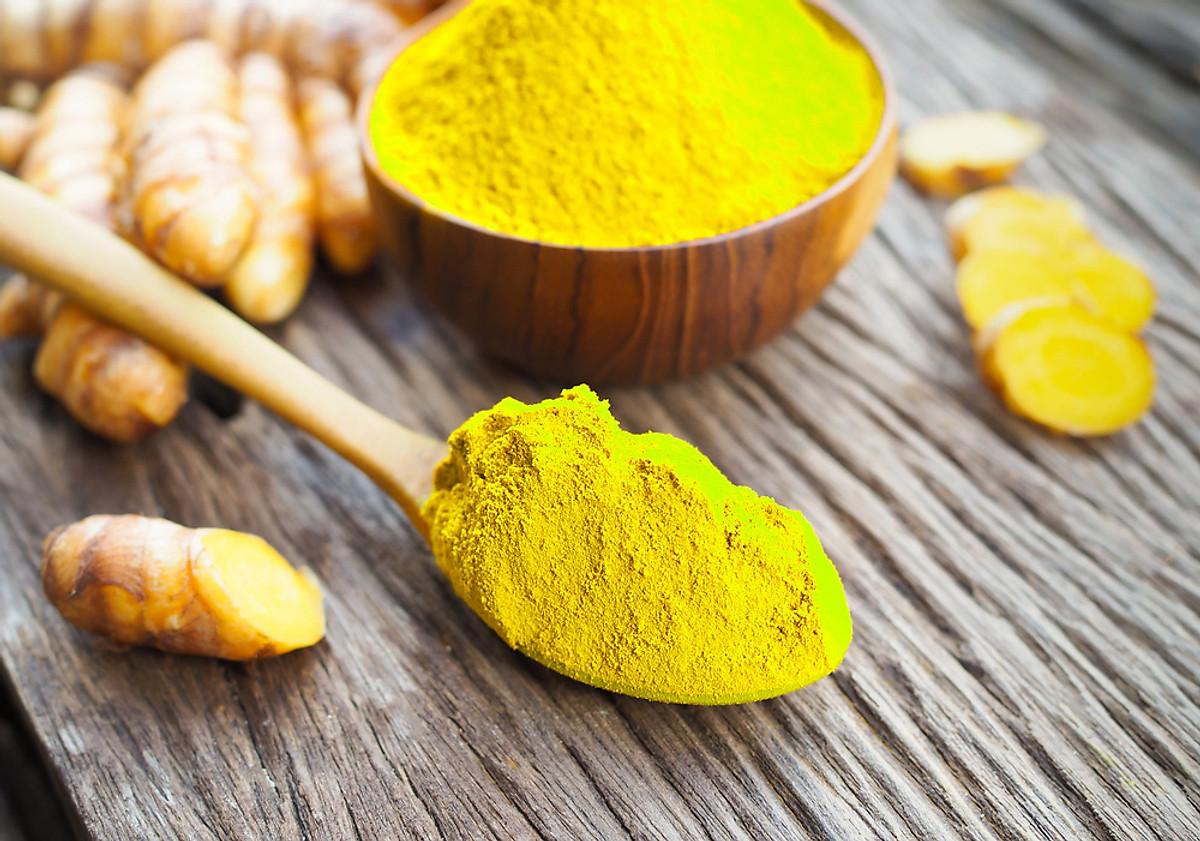 Bổ sung curcumin có trong nghệ để tăng cường hệ miễn dịch