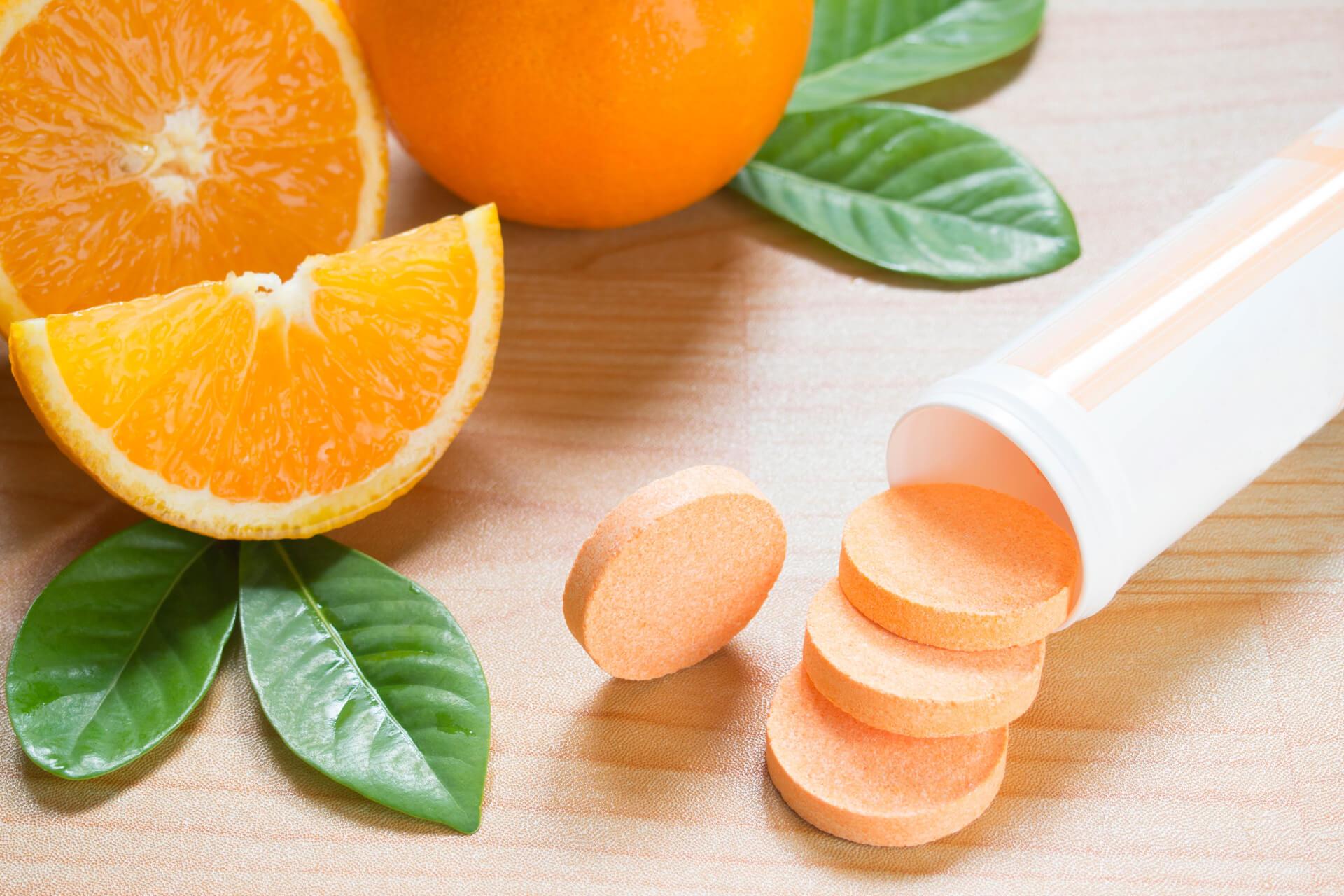 Vitamin C giúp ngăn ngừa cảm lạnh thông thường